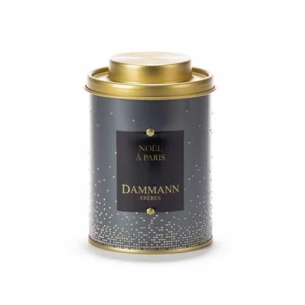 thé noir noël a paris boîte
