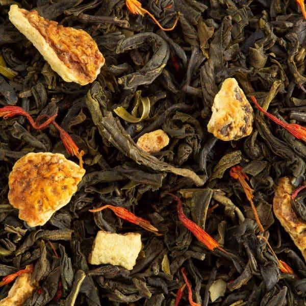 thé vert vert exotic