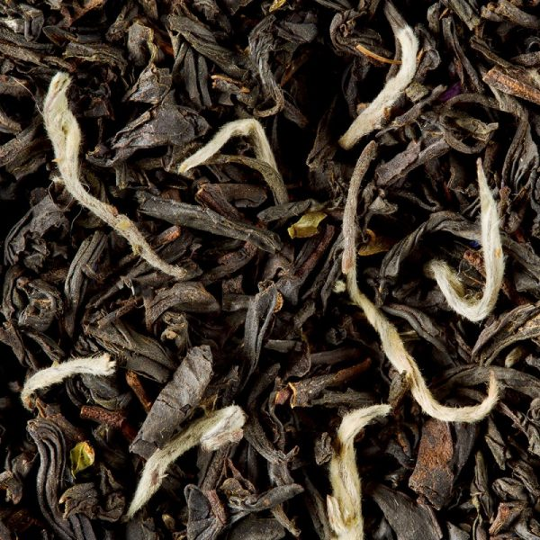 thé noir earl grey pointes blanches