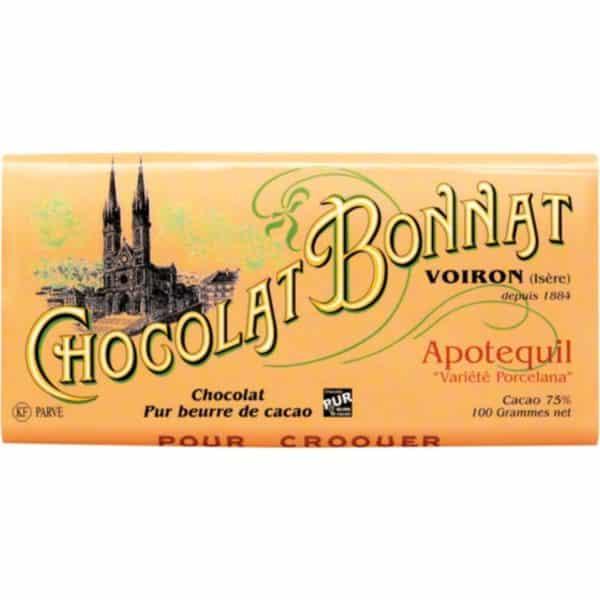 Apotequil Pérou chocolat bonnat