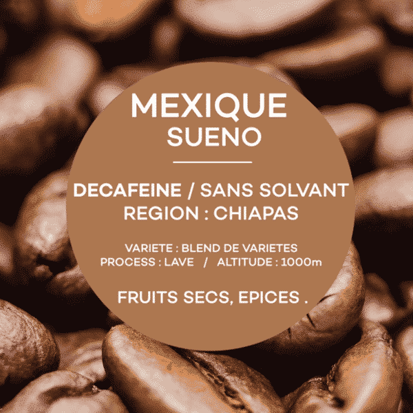 café mexique sueno