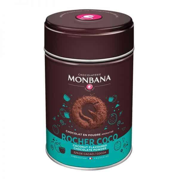 rocher-coco-chocolat poudre aromatise monbana 250g