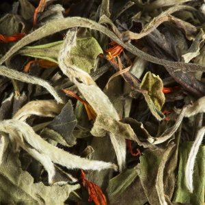 thé blanc poire marron glace