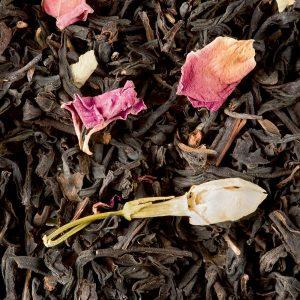 thé noir thé des trois fleurs